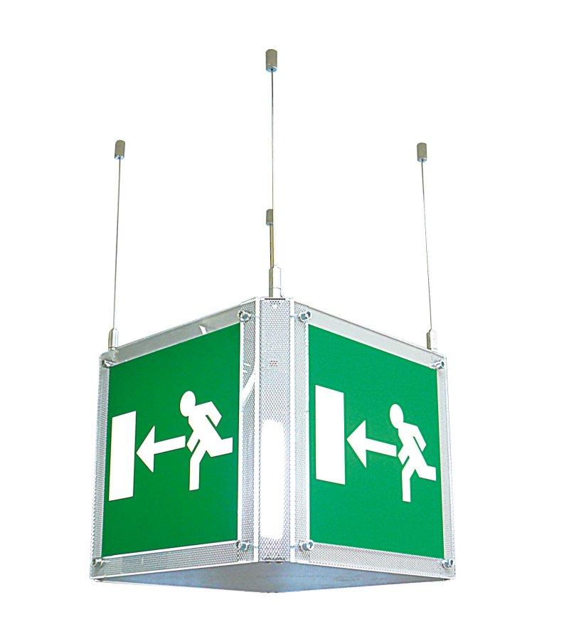 LED Notleuchten CUBE-LUX